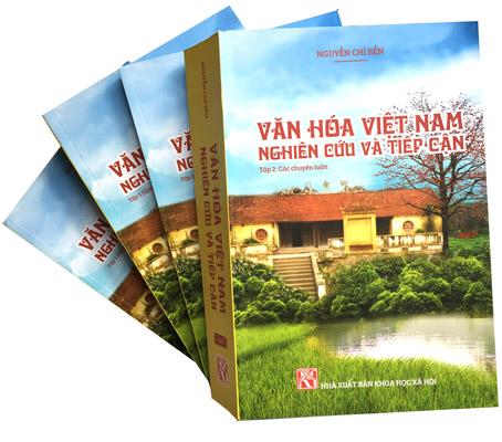 """bộ sách """"Văn hóa Việt Nam - Nghiên cứu và tiếp cận"""""""